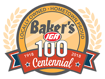 Bakers 100th Anniversary Logo