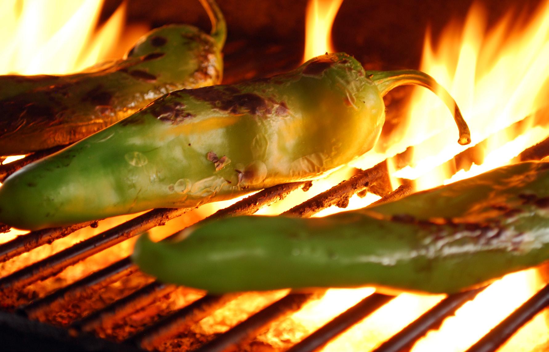 roasted chilis