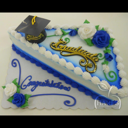 Graduation Cake Triangle