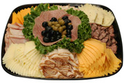 Traditional Deli Meat & Cheese Tray