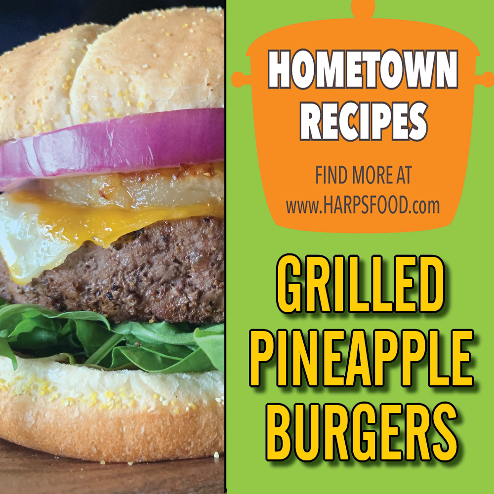 Grilled Pineapple Burgers