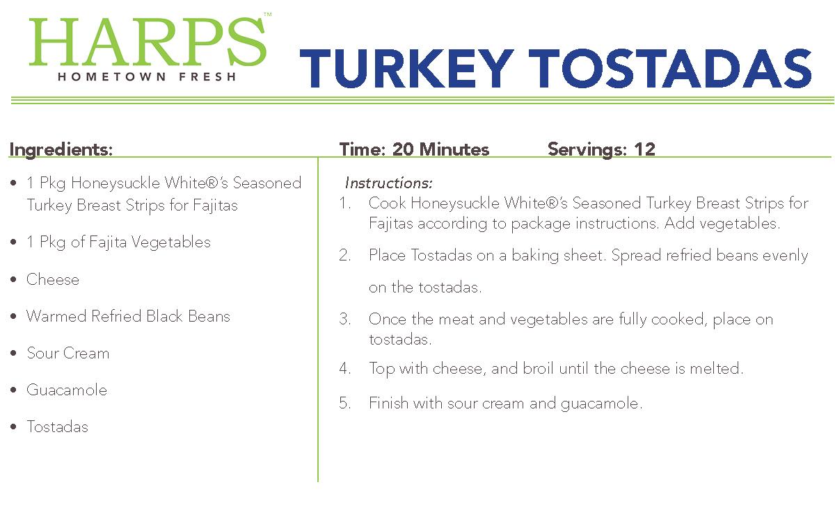 Turkey Tostadas