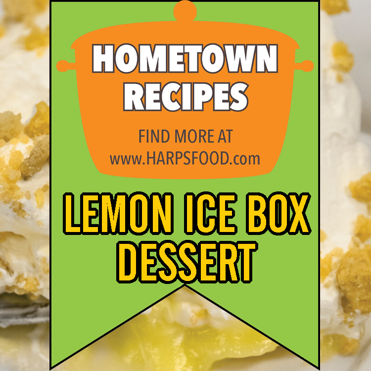 Lemon Icebox Dessert