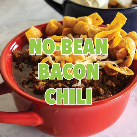 No Bean Bacon Chili