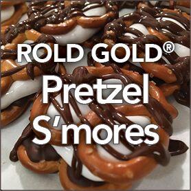 Rold Gold Pretzel S'mores