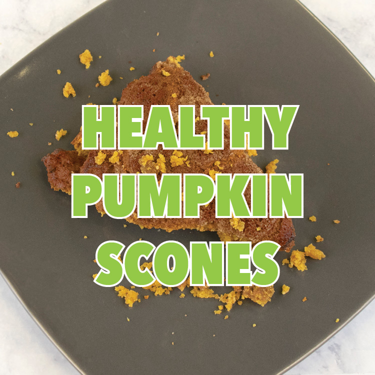 Healthy Pumpkin Scones