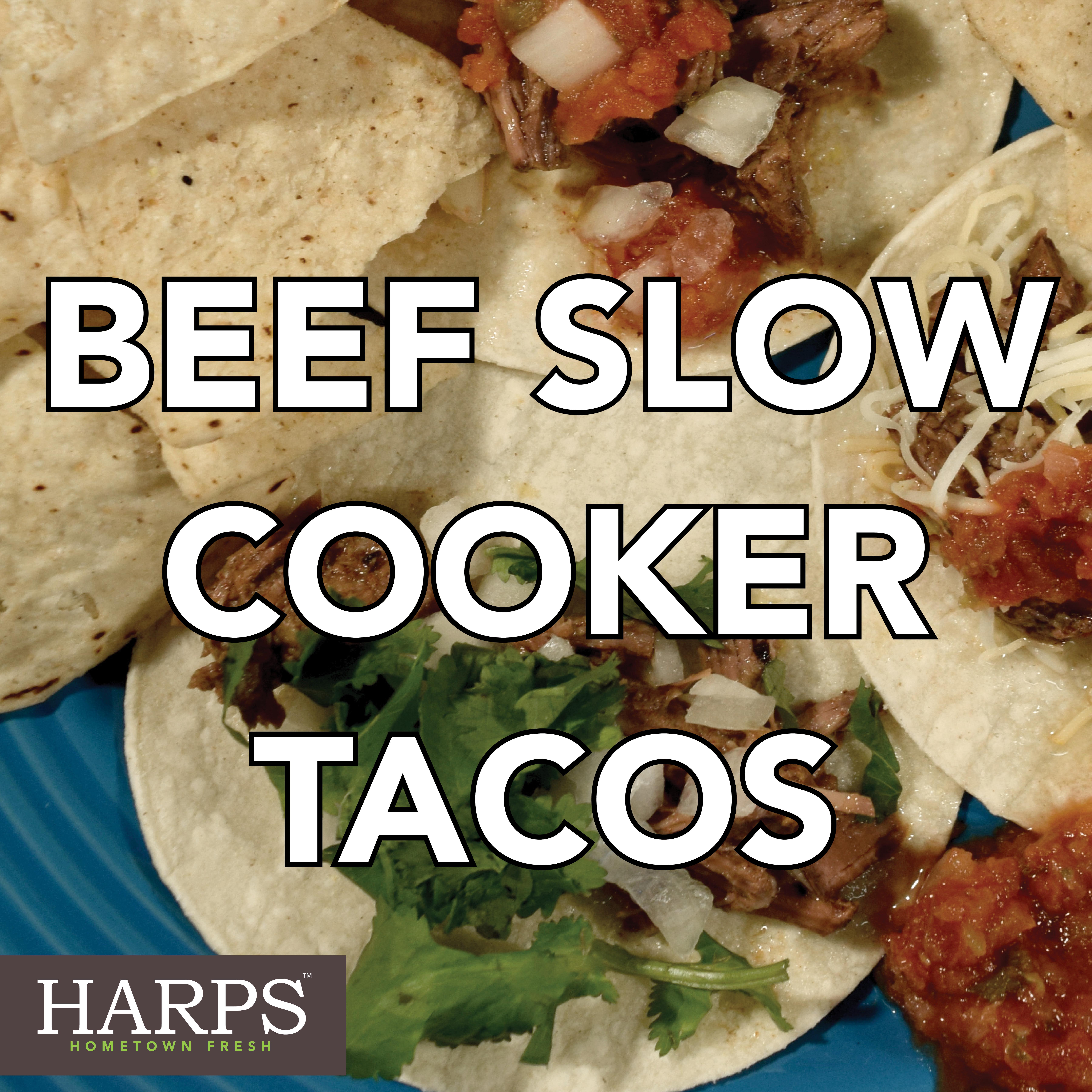 Beef Slow Cooker Tacos