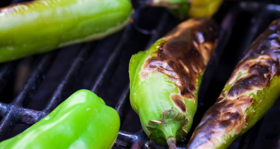 fire grilled chilis