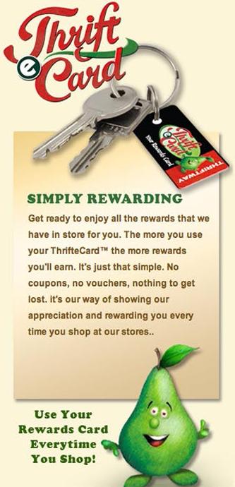thrift e-card