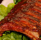 Picture of Fresh Baby Back Pork Ribs, Spareribs or St. Louis Style Spareribs