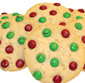 Picture of Christmas Themed M&M's or Iced Sugar Cookies
