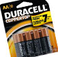 Picture of Duracell Coppertop Batteries