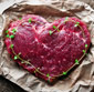 Picture of Heart Shaped Ribeye Steak or Premium Dry Scallops