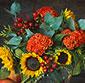 Picture of Raspberry Sun Bouquet