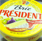 Picture of President Brie Cheese Wedge