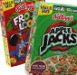 Picture of Kellogg's Apple Jacks, Corn Pops, Froot Loops or Frosted Flakes