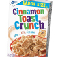 Picture of General Mills Family Size Cinnamon Toast Crunch, Honey Nut Cheerios