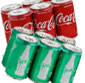 Picture of Coca-Cola Brand 6 Pack Mini Cans