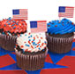 Picture of Kimberley's Patriotic Cupcakes