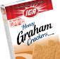 Picture of IGA Cinnamon or Honey Grahams