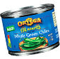 Picture of Ortega Whole, Mild or Hot Diced Green Chilies