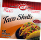 Picture of IGA Taco Shells, Tortillas or Salsa
