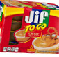 Picture of Jif To Go Peanut Butter
