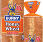 Picture of Bunny Thin White or Honey Wheat Bread