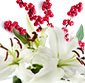 Picture of Holiday Ilex with Cedar & White Lilies