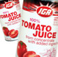 Picture of IGA Tomato Juice