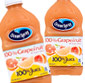 Picture of Ocean Spray Grapefruit 100% Juice or Juice Cocktail