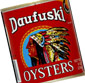 Picture of Daufuski Canned Oysters