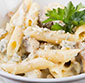 Picture of Michou Pasta with Garlic Sauce Salad
