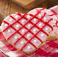 Picture of Lofthouse Valentine Message Heart Cookie Tub or Heart Shaped Sugar Cookies