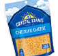 Picture of Crystal Farms Chunk or Shredded Cheese