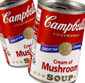 Picture of Campbell's Cream of Mushroom or Chicken Soup