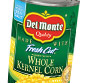 Picture of Del Monte Cut Green Beans, Sweet Peas or Whole Kernel & Cream Corn