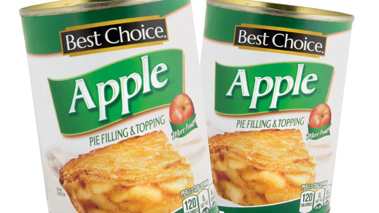 Picture of Best Choice Fruit Pie Filling & Topping