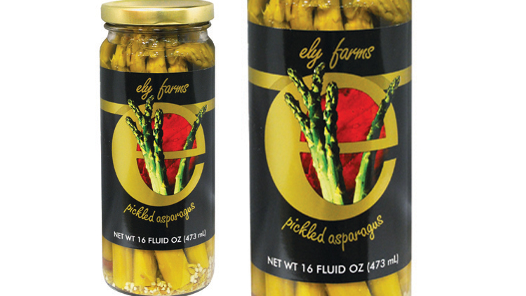 Picture of Ely Farms Pickled Asparagus