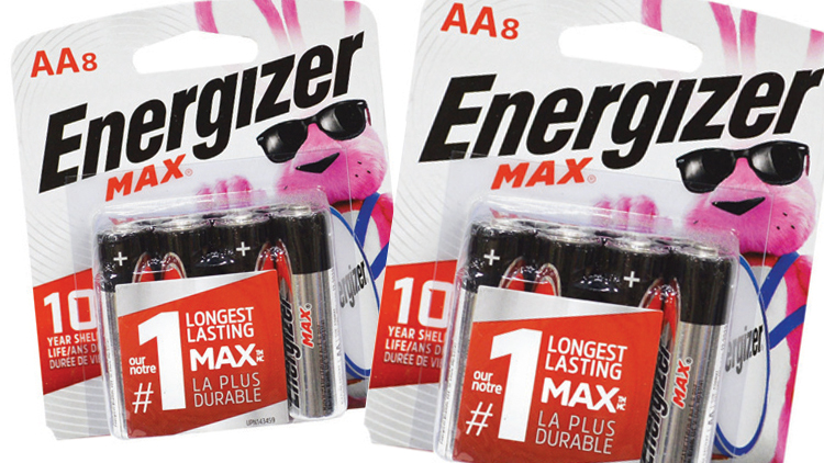Picture of Energizer Max AA or AAA Batteries
