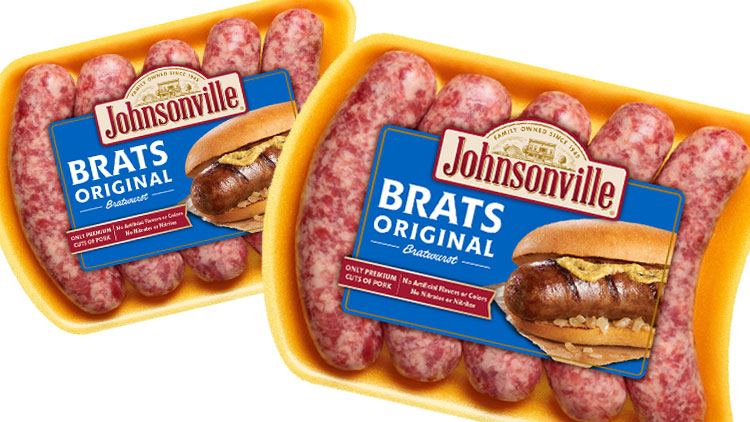 Picture of Johnsonville Bratwurst or Italian Sausage