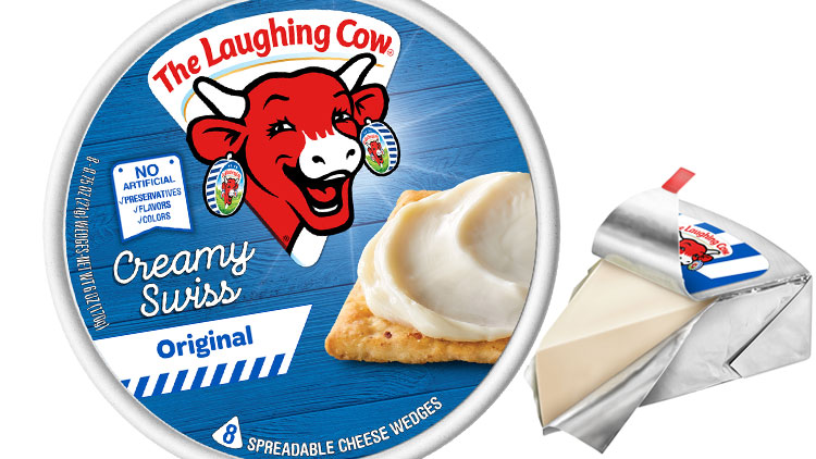 Picture of The Laughing Cow Cheese Wedges