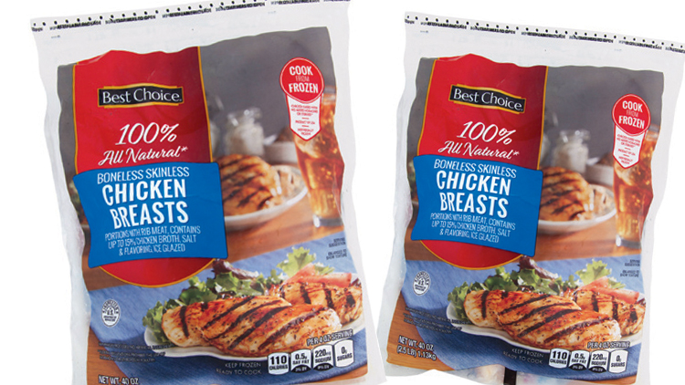 Picture of Best Choice Boneless Skinless Chicken Breasts