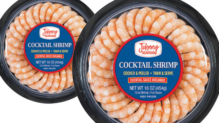 Picture of Johnny Seafood Cocktail Shrimp Ring with Cocktail Sauce