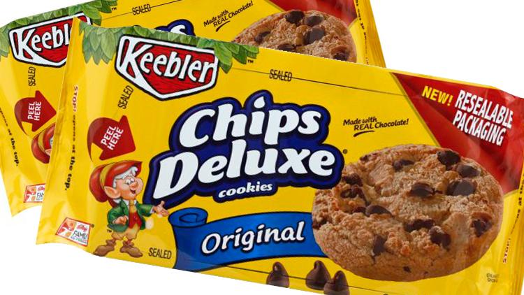 Picture of Keebler Chips Deluxe Cookies