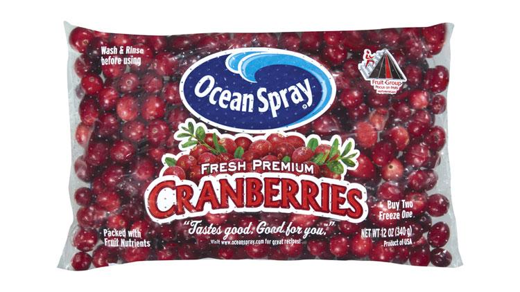 Picture of Ocean Spray Fresh Cranberries