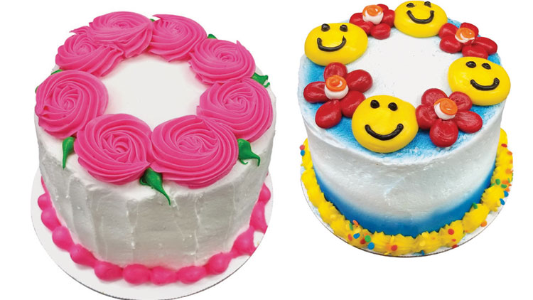 Picture of Mini All Occasion Decorated Cakes