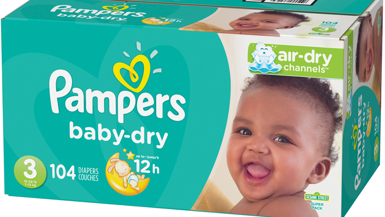 Picture of Pampers Baby-Dry Diapers
