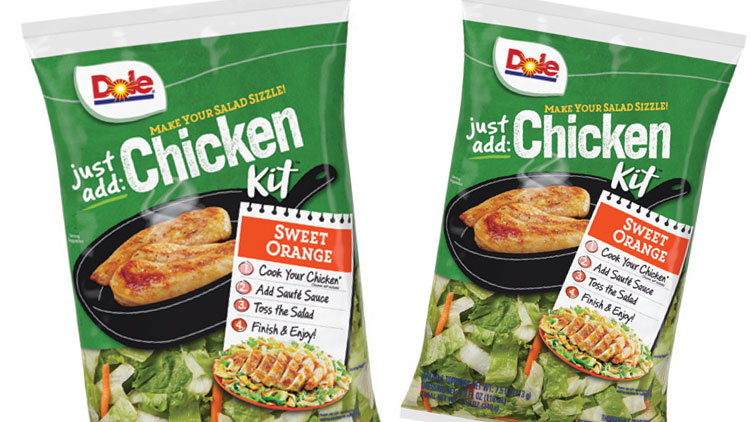 Picture of Dole Just Add Chicken Salad Kit