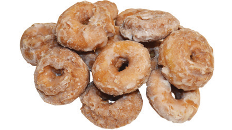 Picture of Snickerdoodle Crackle Doughnuts